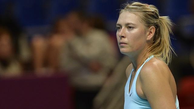 الروسية شارابوفا تتقهقر إلى المركز السابع في التصنيف العالمي للاعبات التنس