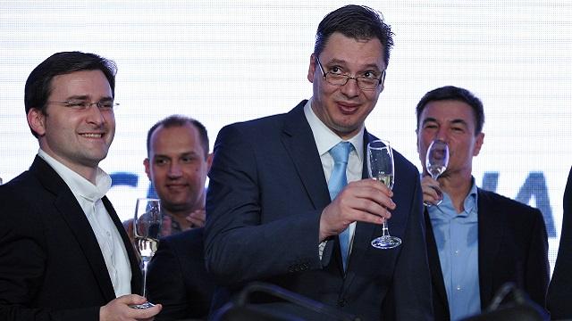 الحزب التقدمي يفوز بالانتخابات التشريعية في صربيا