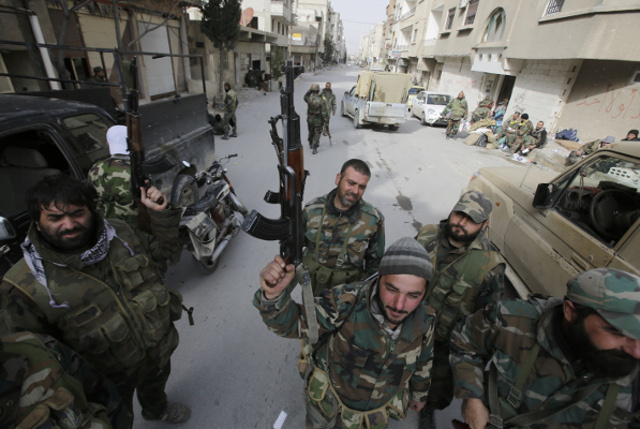 الجيش السوري يستعد للهجوم على بلدات جديدة بالقلمون بعد استعادة يبرود