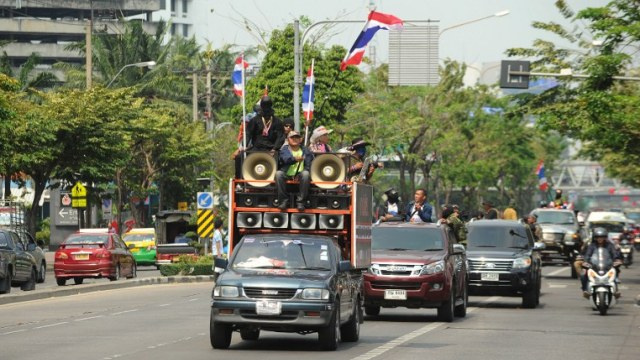 حكومة تايلاند ترفع حالة الطوارئ في بانكوك ابتداء من 19 مارس