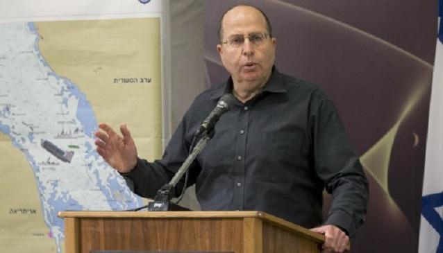 موشيه يعلون يعبر عن تأييده لهجوم إسرائيلي منفرد على إيران
