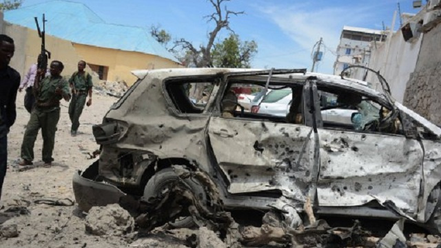 مقتل 7 أشخاص بينهم 4 جنود من القوات الإفريقية بانفجار في الصومال