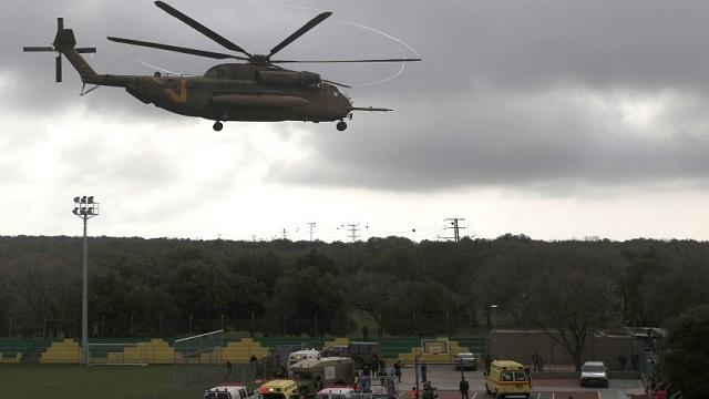 الطيران الإسرائيلي يغير على أهداف عسكرية داخل سورية