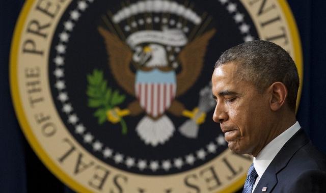 أوباما يستبعد تدخلا عسكريا أمريكيا في أوكرانيا