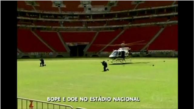 بالفيديو.. تدريبات لقوات الأمن البرازيلية استعدادا للمونديال