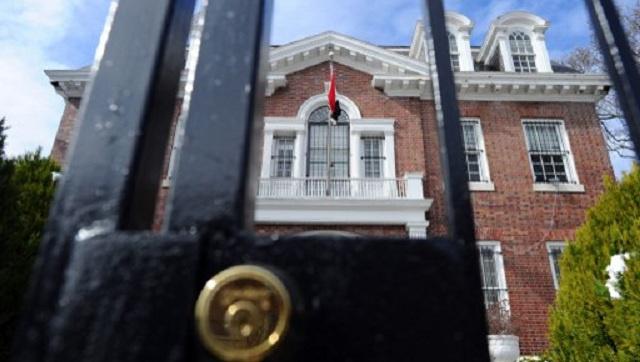 دمشق تدين قرار واشنطن بتعليق عمل السفارة السورية في الولايات المتحدة