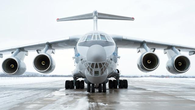 بالفيديو.. طائرة النقل العسكري