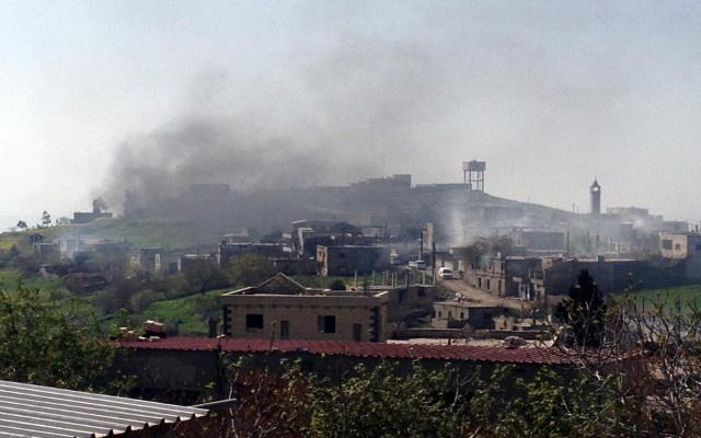 القوات السورية تسيطر على قلعة الحصن في محافظة حمص
