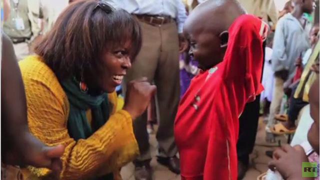 فحوصات سوء التغذية لأطفال في جمهورية أفريقيا الوسطى (فيديو)