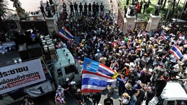 أربعة جرحى في سلسلة تفجيرات في تايلاند