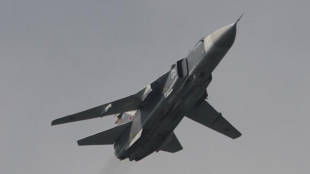 تحطم طائرة حربية في أوكرانيا