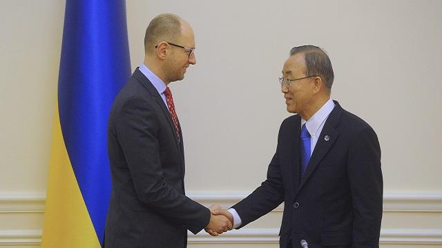 بان كي مون: دعم المجتمع الدولي سيساعد أوكرانيا في خروجها من الأزمة