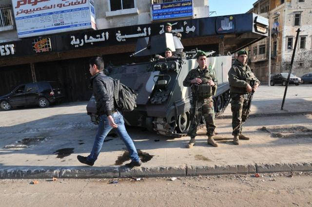 ارتفاع حصيلة الاشتباكات بطرابلس اللبنانية إلى 11 قتيلا