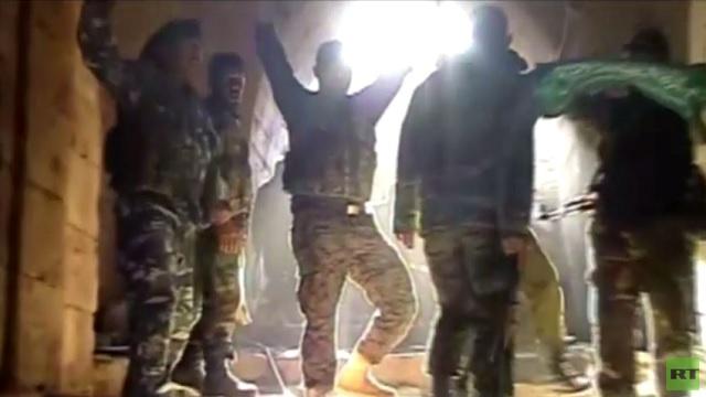 بالفيديو...الجيش السوري يستعيد قلعة الحصن المدرجة على قوائم اليونسكو