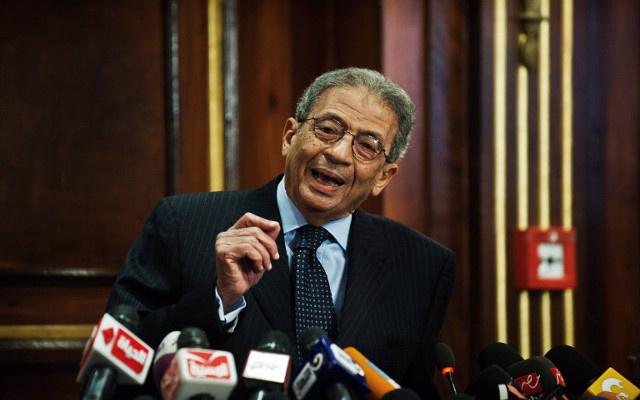 عمرو موسى: برنامج السيسي يهدف إلى القضاء على الفقر