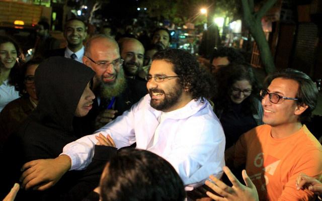 إطلاق سراح الناشط المصري علاء عبد الفتاح بكفالة