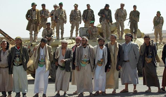 المسلحون الحوثيون يسيطرون على مدخل مدينة عمران شمال اليمن
