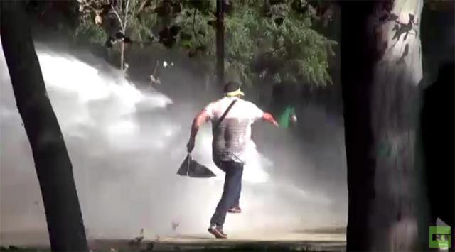الشرطة في سانتياغو
