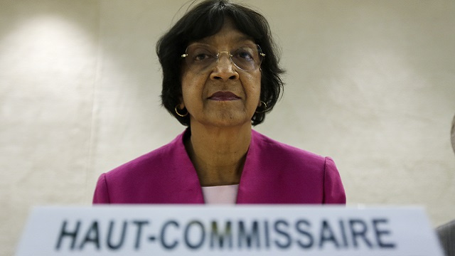 بيلاي تطالب برفع الحصار عن غزة وتنتقد انتهاك الحقوق من قبل المستوطنين الإسرائيليين