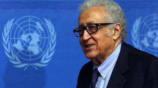 الابراهيمي يستبعد جولة جديدة من المحادثات السورية في جنيف قريبا