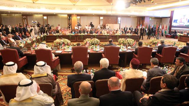 القمة العربية تعقد تحت شعار