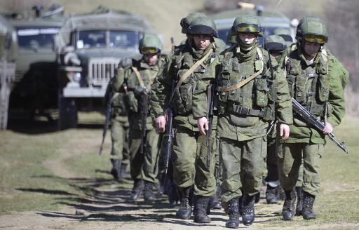 رئاسة الاركان الاوكرانية تبحث مع وزارة الدفاع الروسية اخراج الجنود الاوكرانيين من القرم