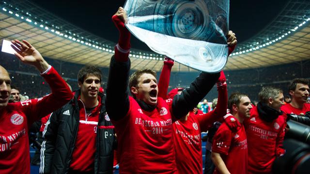 بايرن ميونيخ يحسم لقب الدوري الالماني في زمن قياسي