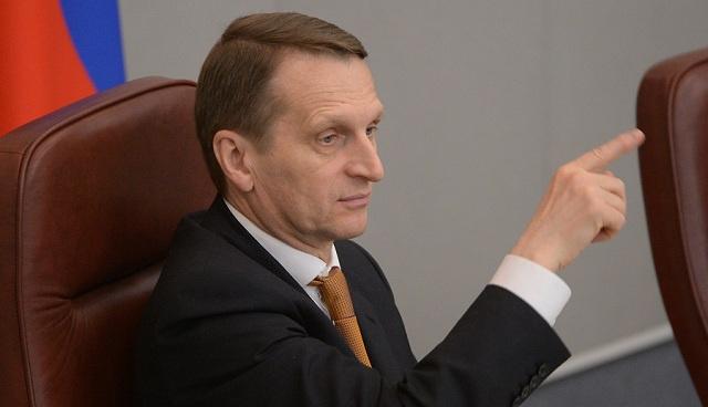 ناريشكين: الغرب بفرضه عقوبات على موسكو يحمل مواطنيه فاتورة فشل سياسته بأوكرانيا