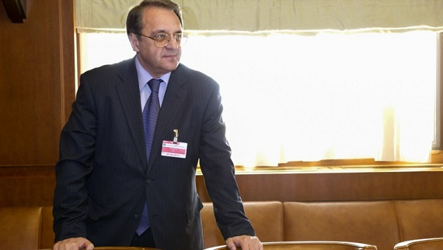 بوغدانوف يبحث الأزمة السورية والوضع حول أوكرانيا مع المشاركين في القمة العربية