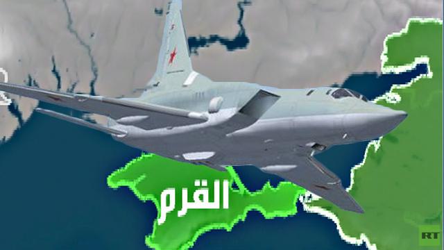 وزارة الدفاع الروسية تعيد قاذفات استراتيجية إلى القرم (فيديو)