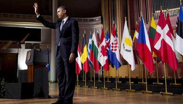 أوباما: لن ندخل في حرب باردة جديدة مع روسيا