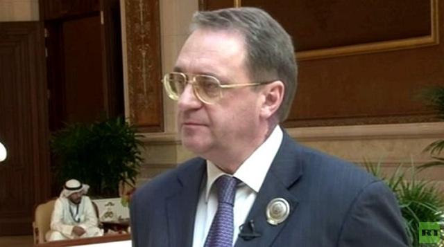 بوغدانوف لـRT: نعمل بالتعاون مع الأمم المتحدة وواشنطن من أجل عقد