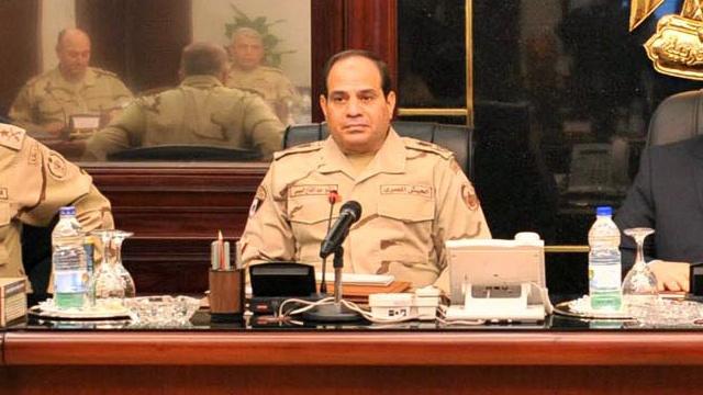 ترشح السيسي لانتخابات الرئاسة في مصر