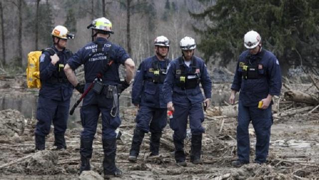 90 مفقودا بعد وقوع انزلاقات أرضية هائلة في ولاية واشنطن الأمريكية