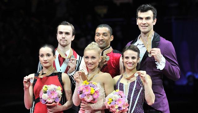 روسيا تنال فضية في بطولة العالم للتزحلق الفني على الجليد