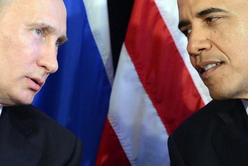 ارتفاع شعبية بوتين وانخفاضها عند أوباما على خلفية الاحداث في أوكرانيا