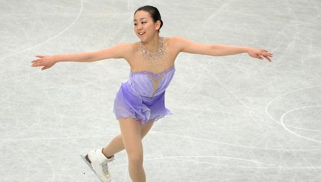 يابانية تحطم الرقم القياسي في بطولة العالم للتزحلق الفني على الجليد
