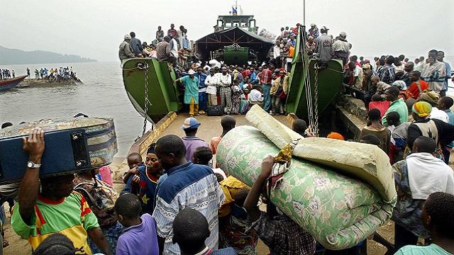 حكومة الكونغو الديمقراطية تعلن الحداد بعد مقتل 251 لاجئا غرقا