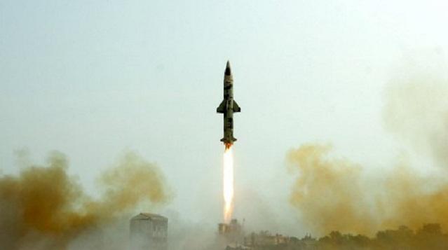 الهند تجري اختبارا جديدا لصاروخ