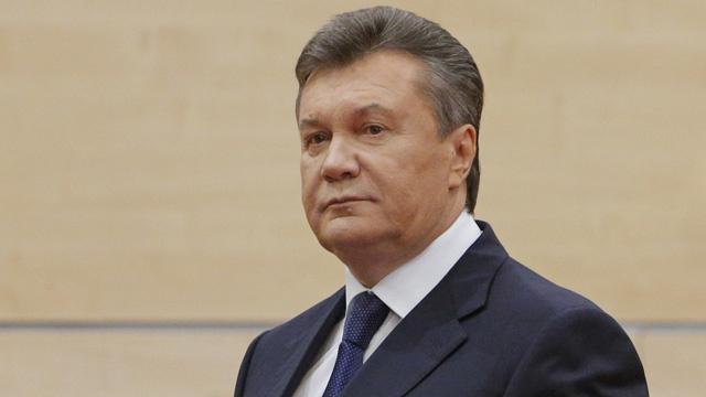 يانوكوفيتش يدعو الى إجراء استفتاء حول وضع جميع الأقاليم الأوكرانية