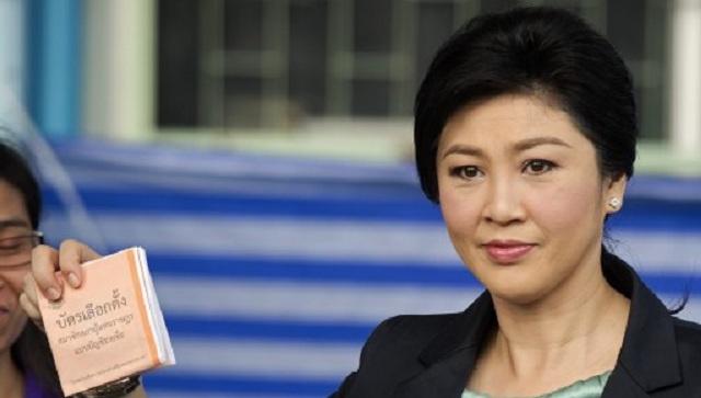 رئيسة الوزراء التايلاندية تعلن أنها لا تنوي اعتزال السياسة