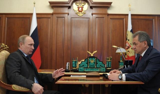 بوتين: أحداث القرم أظهرت القدرات العالية للقوات المسلحة الروسية
