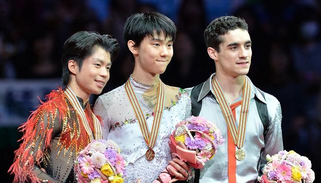الياباني يوزورو بطلا للعالم في التزحلق الفني على الجليد