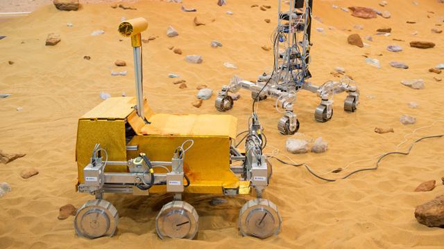 افتتاح ميدان تجارب لاختبار نماذج أولية لمسبار المريخ
