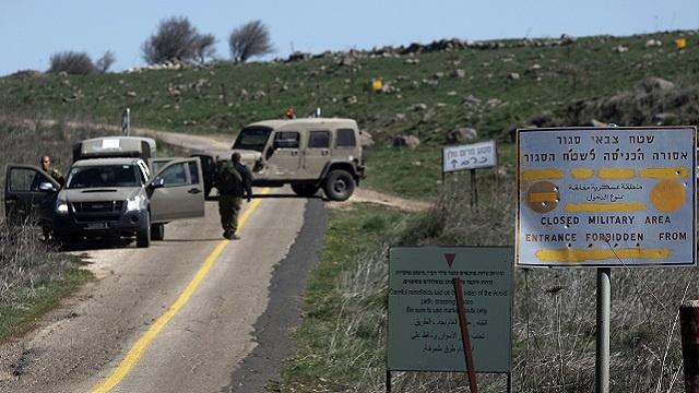 الجيش الإسرائيلي يطلق النار على مسلحين مشتبه بهما تسللا إلى الجولان