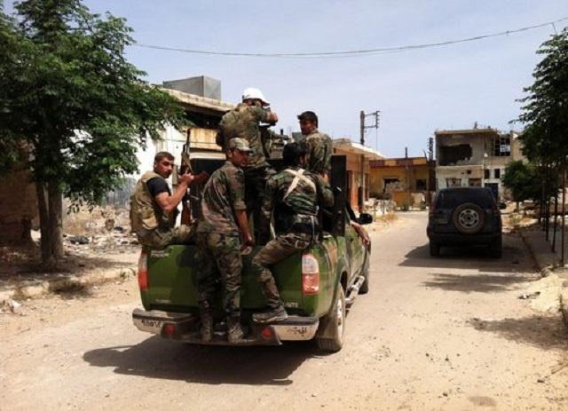 الجيش السوري يفرض سيطرته على قريتين في القلمون