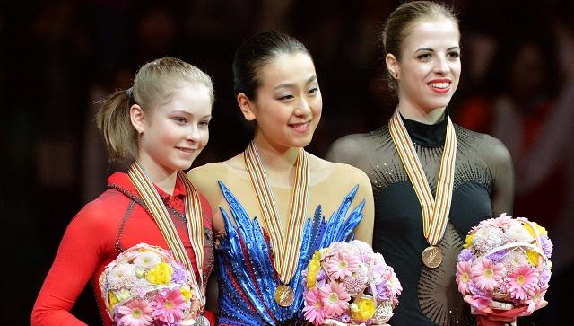 بالصور .. الروسية الشابة ليبنيتسكايا تتوج بفضية العالم للتزحلق الفني على الجليد