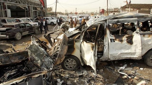 الداخلية العراقية تعلن مقتل 7 من داعش وتدمير سياراتهم