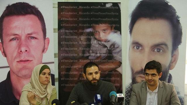 الإفراج عن صحفييْن إسبانييْن تم اختطافهما في سوريا العام الماضي