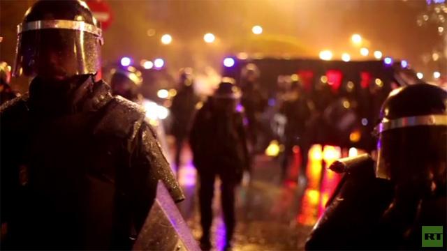 اعتداء على صحفي وكالة RUPTLY في مدريد (فيديو)